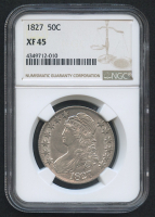 1827 50¢ Capped Bust Half Dollar (NGC XF 45)