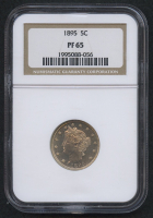 "1895 5¢ Liberty Head ""V"" Nickel (NGC PF 65)"