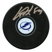 Cory Conacher Signed Tampa Bay Lightning Logo Hockey Puck (JSA Hologram)