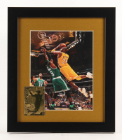 Kobe Bryant Los Angeles Lakers 13x15 Custom Framed Photo Display with 23kt Gold Card
