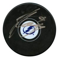 Steven Stamkos Signed Tampa Bay Lightning Logo Hockey Puck (JSA Hologram)