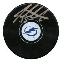 Jake Dotchin Signed Tampa Bay Lightning Logo Hockey Puck (JSA Hologram)