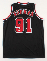 "Dennis Rodman Signed Chicago Bulls ""The Worm"" Jersey (JSA COA)"