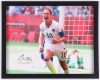 Carli Lloyd Signed Team USA 12x15 Custom Framed Cut Display (JSA COA)