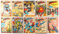 "Lot of (10) 1971-72 ""Superman"" #235-#251 DC Comic Books"