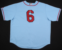 """Stan Musial Signed St. Louis Cardinals Jersey Inscribed """"3630"""" (PSA COA)"""