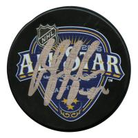 Brandon Saad Signed 2016 NHL All Star Game Logo Hockey Puck (Your Sports Memorabilia Store Hologram)