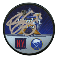 Brady Skjei Signed 2018 Winter Classic Logo Hockey Puck (JSA Hologram)