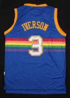Allen Iverson Signed Denver Nuggets Adidas Jersey (JSA COA)