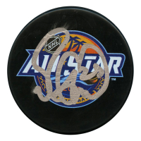 Mike Green Signed 2018 NHL All Star Game Logo Hockey Puck (JSA Hologram)