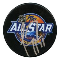 Carey Price Signed 2018 NHL All Star Game Logo Hockey Puck (JSA Hologram)