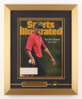 """Tiger Woods """"Sports Illustrated"""" 14x17 Custom Framed Magazine Display with Ball Marker"""