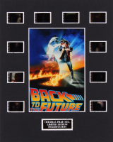"""""""Back to the Future"""" LE 8x10 Custom Matted Original Film / Movie Cell Display"""