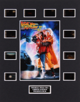 """Back to the Future Part II"" LE 8x10 Custom Matted Original Film / Movie Cell Display"