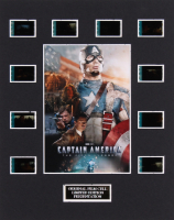 """""""Captain America: The First Avenger"""" LE 8x10 Custom Matted Original Film / Movie Cell Display"""