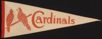 Vintage 1950's St. Louis Cardinals Felt Pennant