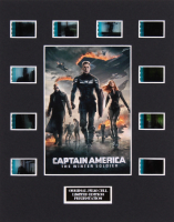 """Captain America: The Winter Soldier"" LE 8x10 Custom Matted Original Film / Movie Cell Display"