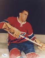 Maurice Richard Signed Montreal Canadiens 8x10 Photo (JSA COA)