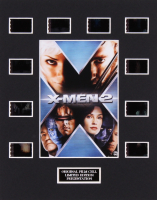 """X-Men 2"" LE 8x10 Custom Matted Original Film / Movie Cell Display"