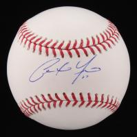 Christian Yelich Signed OML Baseball (PSA COA)