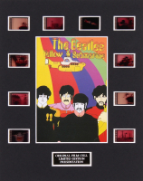 """The Beatles: Yellow Submarine"" LE 8x10 Custom Matted Original Film / Movie Cell Display"