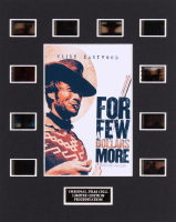 "Clint Eastwood ""For a Few Dollars More"" 8x10 Custom Matted Original Film Cell Display"