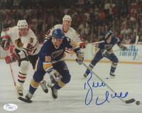 Brett Hull Signed St. Louis Blues 8x10 Photo (JSA COA)