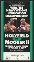 1997 WBA / IBF Heavyweight Unification Championship Ticket Stub