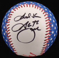 "Garth Brooks Signed Baseball Inscribed ""God Bless"" (PSA COA)"