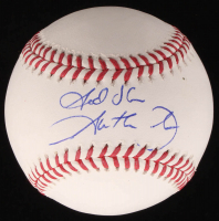 "Garth Brooks Signed OML Baseball Inscribed ""God Bless"" (PSA COA) at PristineAuction.com"