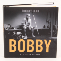 """Bobby Orr Signed """"Bobby"""" Hardcover Book (Great North Road COA)"""