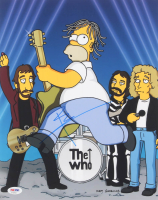 """Pete Townshend Signed """"The Simpsons"""" 11x14 Photo (PSA COA) at PristineAuction.com"""