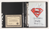 "LE Set of (5) ""The Adventures of Superman"" Collection DC Comic Books Signed by (5) with Brett Breeding, Jackson Guice, Jon Bogdanove, Tom Grummett, & Dan Jurgens (Dynamic Forces COA)"
