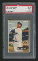 1951 Bowman #165 Ted Williams (PSA 6.5)