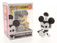 """Bret Iwan Signed & Inscribed Mickey Mouse """"Steamboat Willie"""" Disney #425 Funko Pop! Vinyl Figure (JSA COA) at PristineAuction.com"""