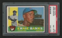 1960 Topps #10 Ernie Banks (PSA 8)