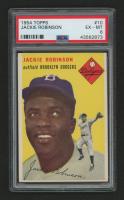 1954 Topps #10 Jackie Robinson (PSA 6)