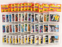 Lot of (14) 1989 Topps Rack Packs with (43) Cards Per Pack