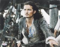"Orlando Bloom Signed ""Pirates of the Caribbean"" 11x14 Photo (PSA COA) at PristineAuction.com"