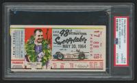 1964 Indianapolis 500 Ticket Stub (PSA Authentic)