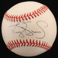Darryl Strawberry Signed ONL Baseball (JSA COA)