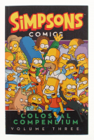 "Matt Groening Signed Simpsons Comics ""Colossal Compendium Volume Three"" Soft Cover Book Inscribed "" 2015"" (Beckett COA) at PristineAuction.com"