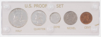1955 United States Mint Proof Set with (5) Coins at PristineAuction.com