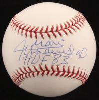 """Juan Marichal Signed OML Baseball Inscribed """"HOF 83"""" (JSA COA)"""