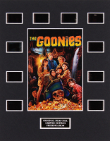 """The Goonies"" LE 8x10 Custom Matted Original Film / Movie Cell Display"