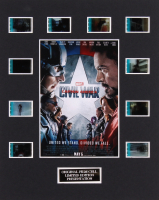 """Captain America: Civil War"" LE 8x10 Custom Matted Original Film / Movie Cell Display"