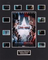 """Captain America: Civil War"" LE 8x10 Custom Matted Original Film / Movie Cell Display"