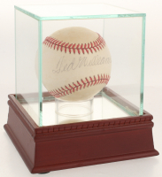 Ted Williams Signed OAL Baseball with Display Case (PSA LOA)