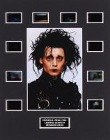 """Edward Scissorhands"" LE 8x10 Custom Matted Original Film / Movie Cell Display"