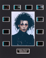 """Edward Scissorhands"" LE 8x10 Custom Matted Original Film / Movie Cell Display"
